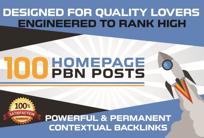 create 100 pbn dofollow homepage backlinks permanent pa 30