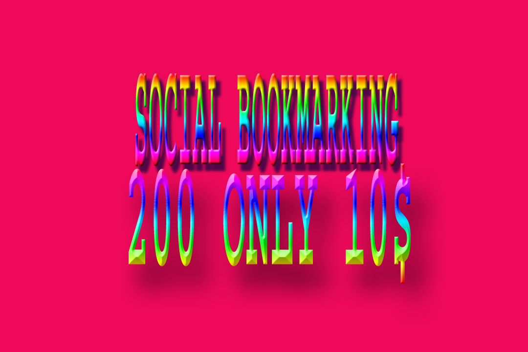 Submit your website 200 social bookmark