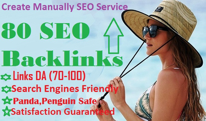 2019 I will  Rank you 1st page of Gooole with 80 SEO backlinks