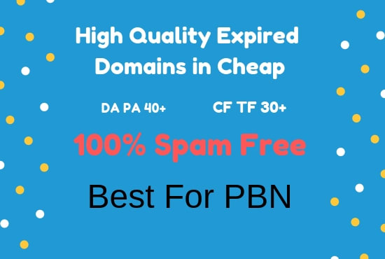 do awesome expired domain research for pbn or your website