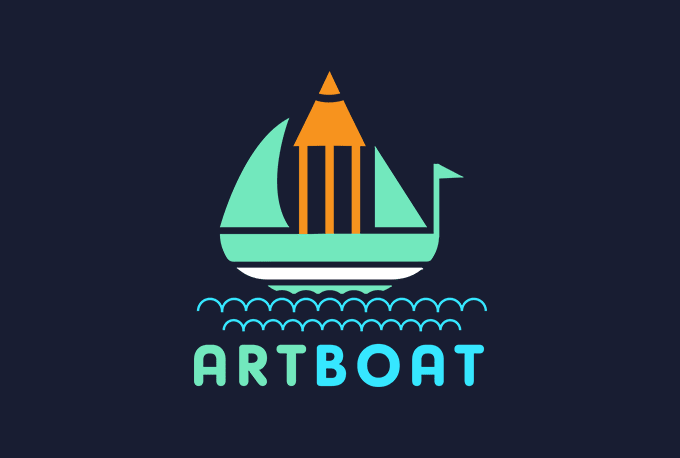 design flat minimalist logo in 24 hrs