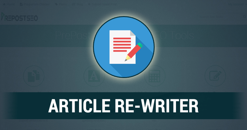 Article or Blog Spinning with in 1h