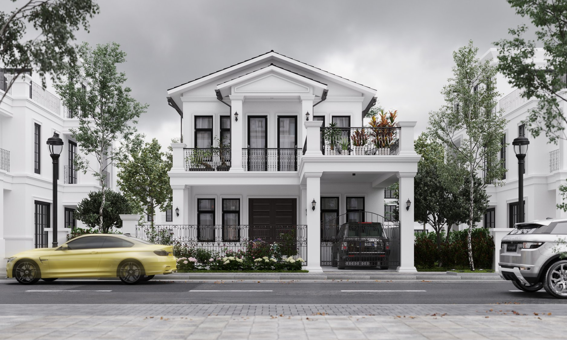 Render Exterior By 3d Max,Sketchup,Lumion,Revit.
