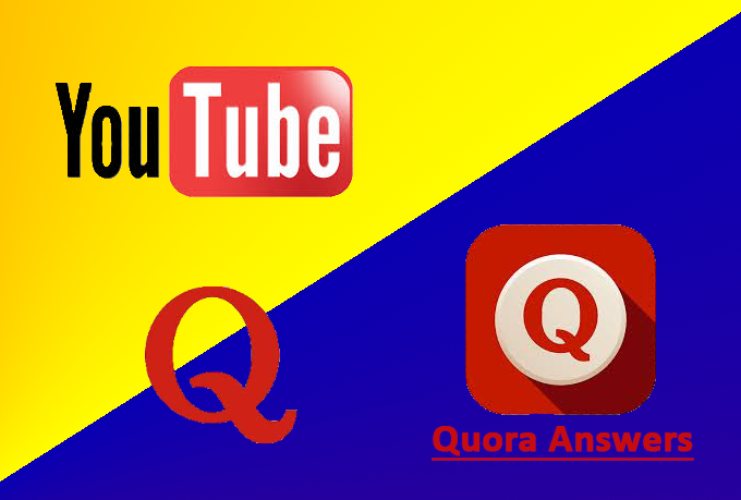 Organic YouTube SEO Marketing With High Quality Quora Answers
