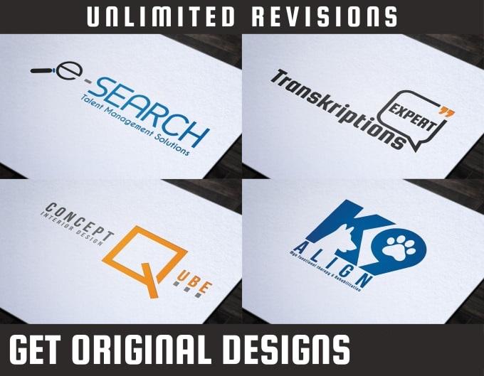 design unique logo with copyrights