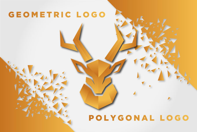 design modern,  polygonal, origami,  geometric logo