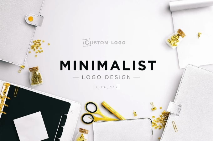 do modern minimal and luxury logo design