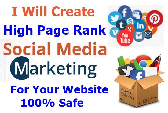 Create 20 SEO SMM To Rank High Your Website On Google