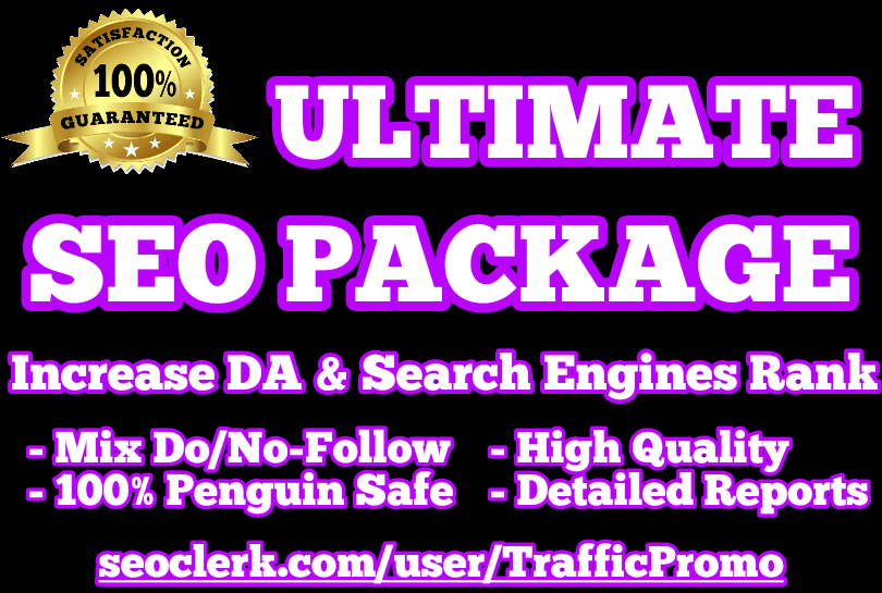 GOOGLE 1st PAGE | ULTIMATE SEO PACKAGE
