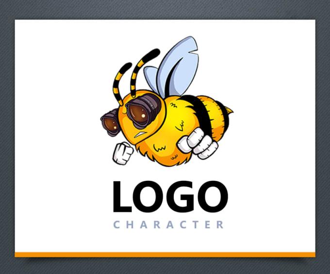 design a cartoon mascot logo character