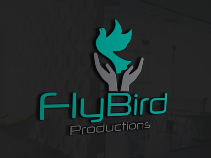 make stupendous 3d logo with copyrights