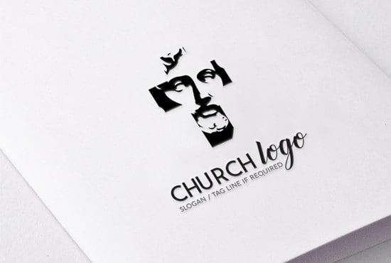 design beautiful church logo for your organisation