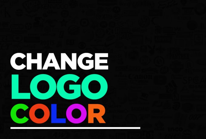 change logo color to black, white or any other color