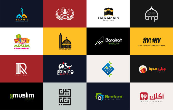 design islamic or arabic logo, posters, flyers or b...