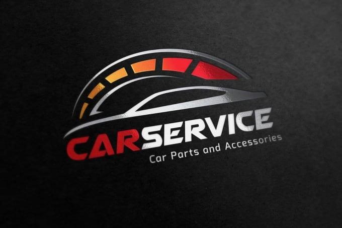 design outstanding car logo