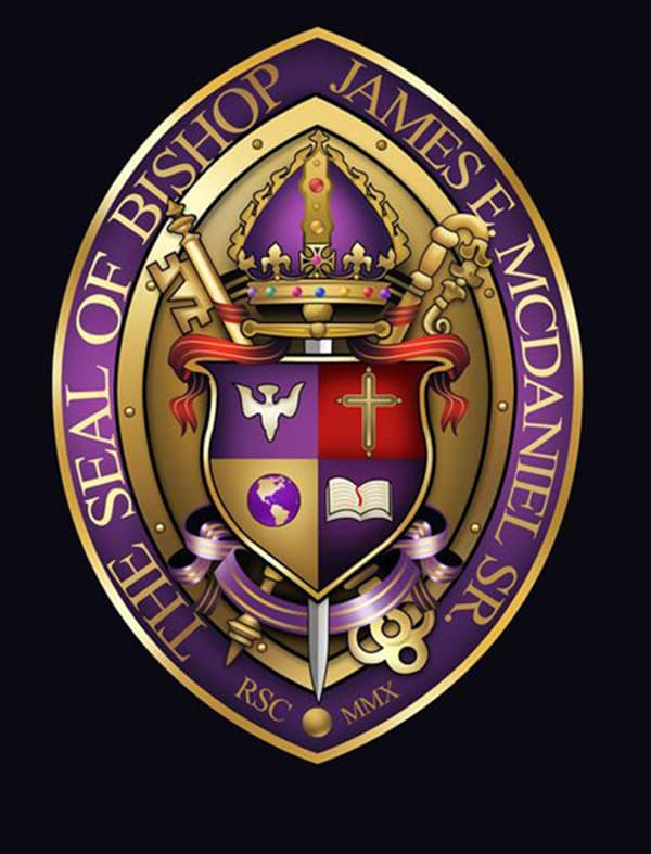 design a professional church seal or logo