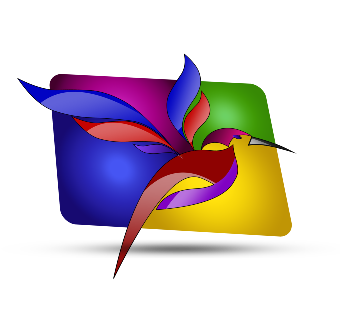 design an HD colorful logo in 3d