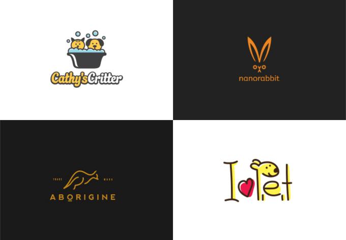 design dog, cat or minimalist pet logo design