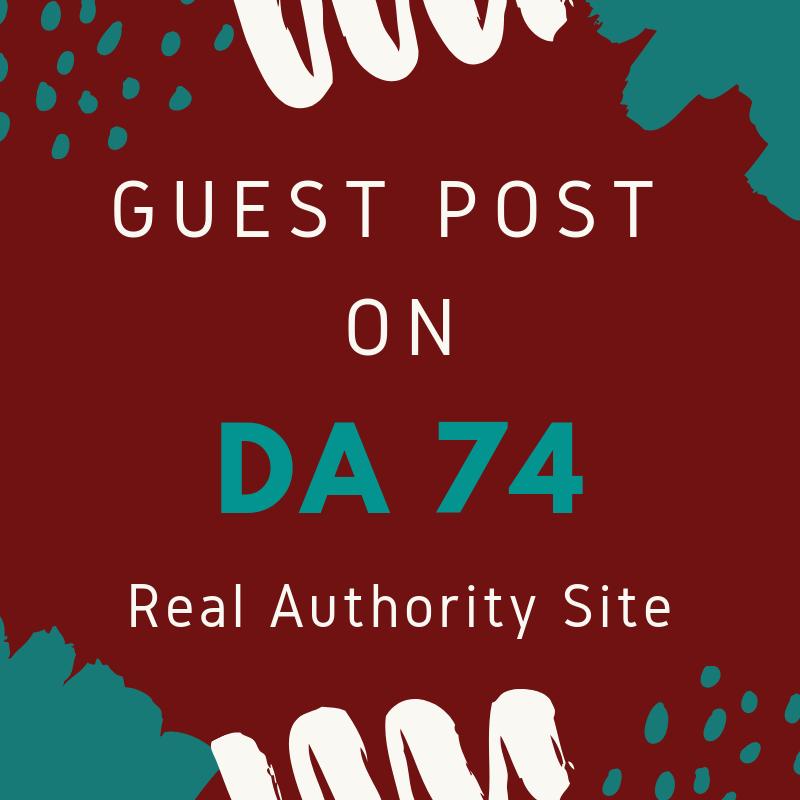 Dofollow Guest Post General Niche Blog DA 74