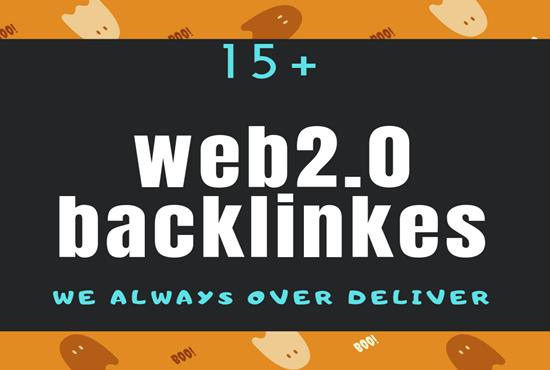 create manually 25 top DA/PA web2 backlinks.