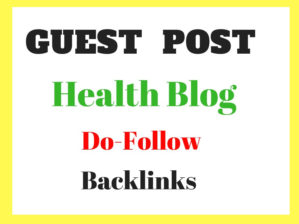 Do Health Guest Post In My Da30 Pa32 Blog
