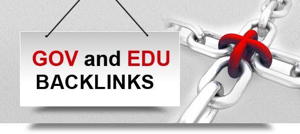 Get 20 EDU/GOV Backlink from high PR Site