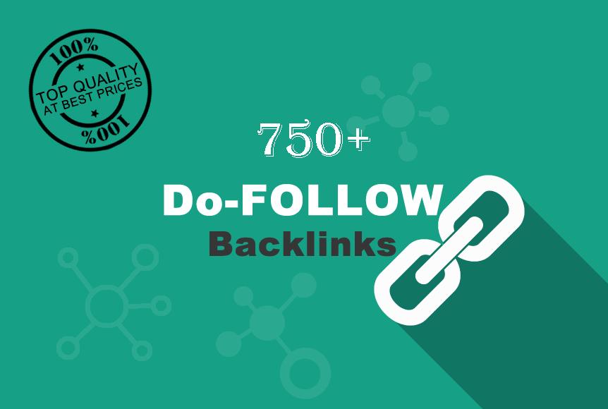 Get 750 DoFollow Backlinks