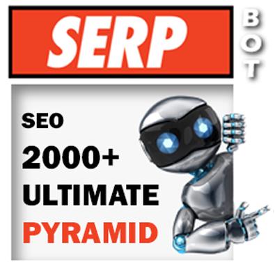 ULTIMATE SEO BIG Pyramid - 2000+ backlinks - Rocket Your SEO Ranking - 3 Tier Links