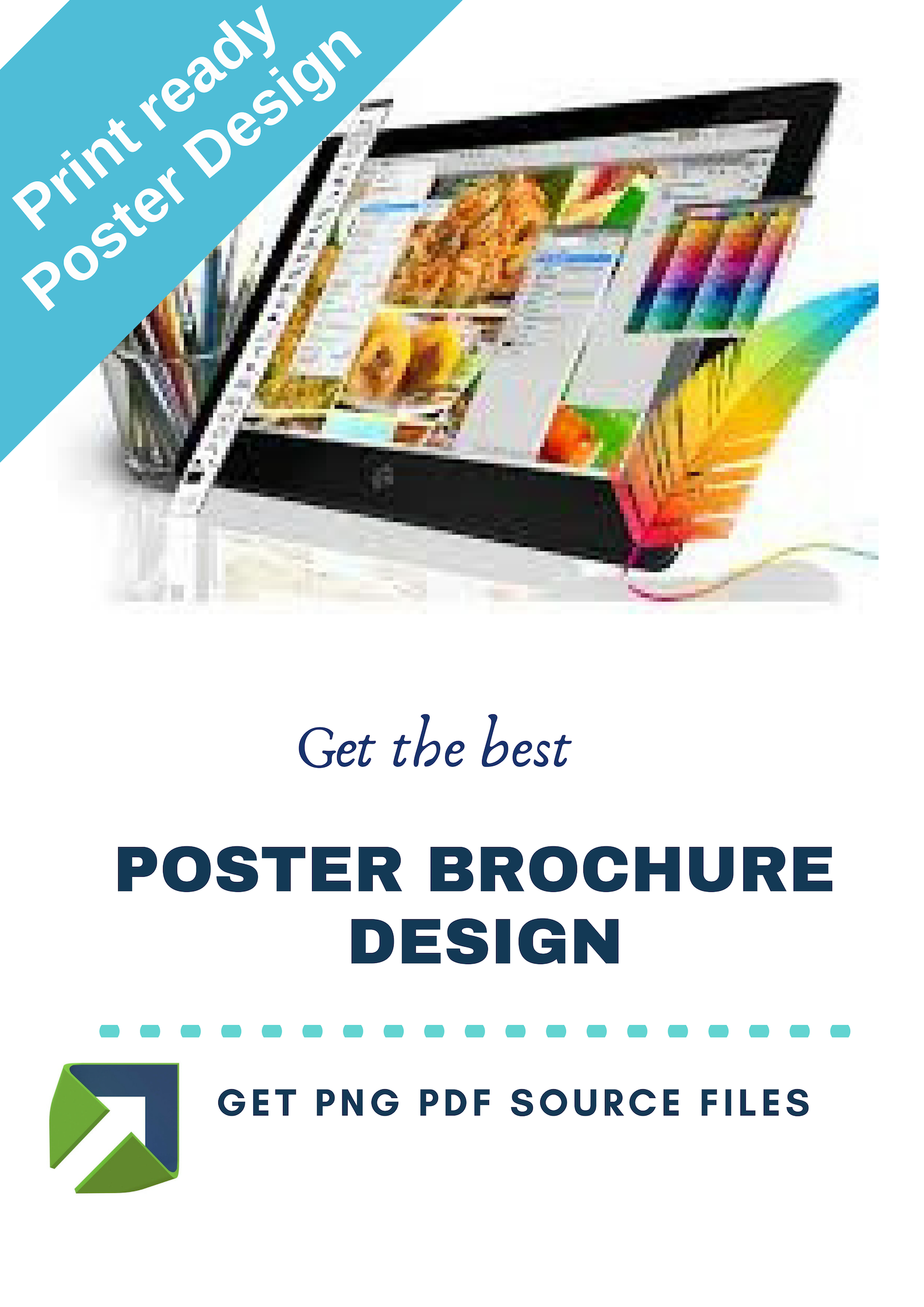 Design amazing poster and brochure