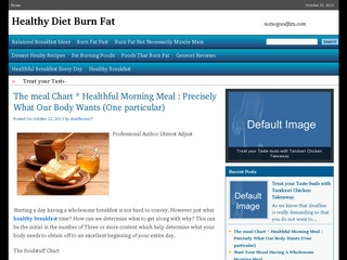 Healthy Diet Burn Fat