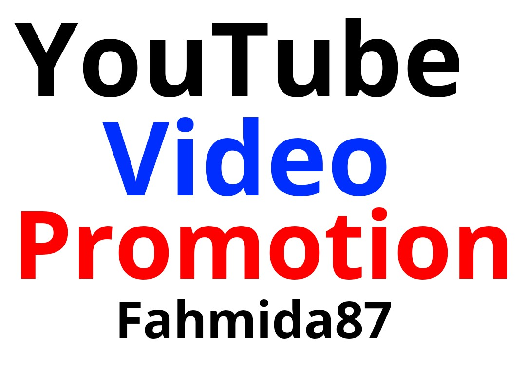 Real YouTube Non Drop Video Promotion Within 24-48 Hours Delivery