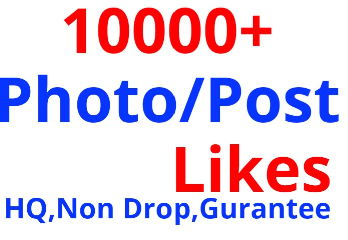 Give 10000+ HQ,Real Non Drop Social Service Super Fast