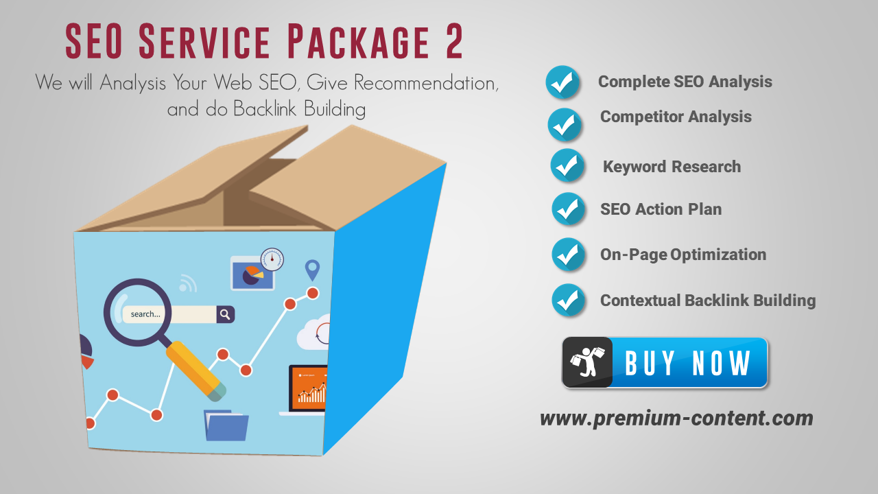 Deep SEO Analysis SEO Service Excellent Package 2