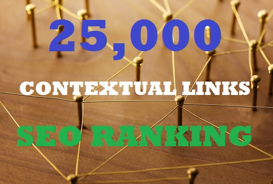 Do 25000 Contextual Tiered SEO package