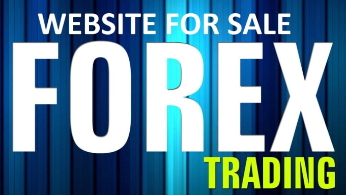 do forex trading business website for sale fully featured niche