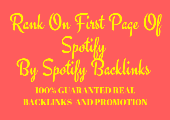 rank you first page of by High Quality Music backlinks