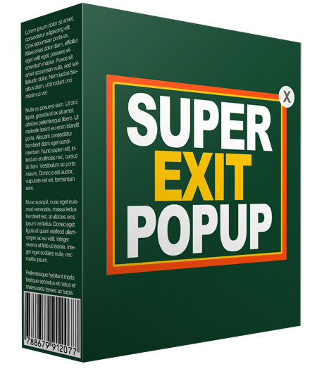 Exit pop up reseller rights