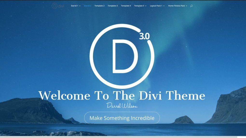 build a professional divi website using divi pagebuilder