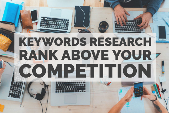 do killer keyword research for SEO