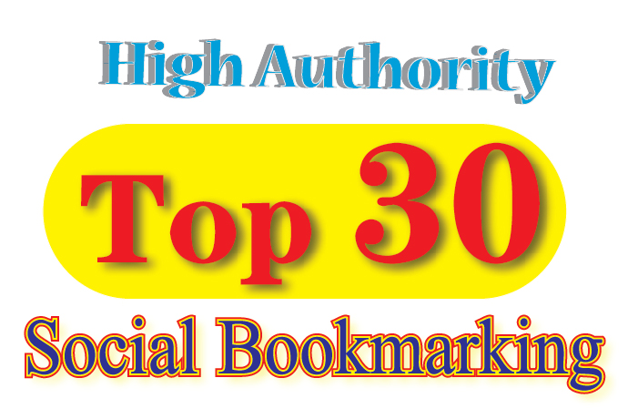 Top 30 Quality Social Bookmarking/SEO Signals/Backlinks/Bookmarks For Website Best Ranking 2019