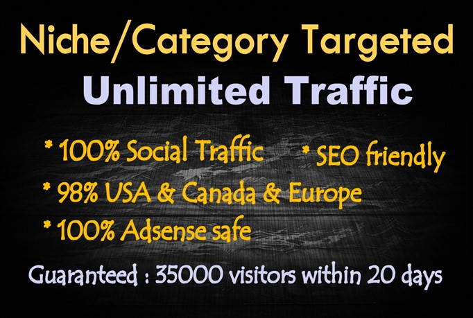 provide unlimited seo friendly targeted quality traffic