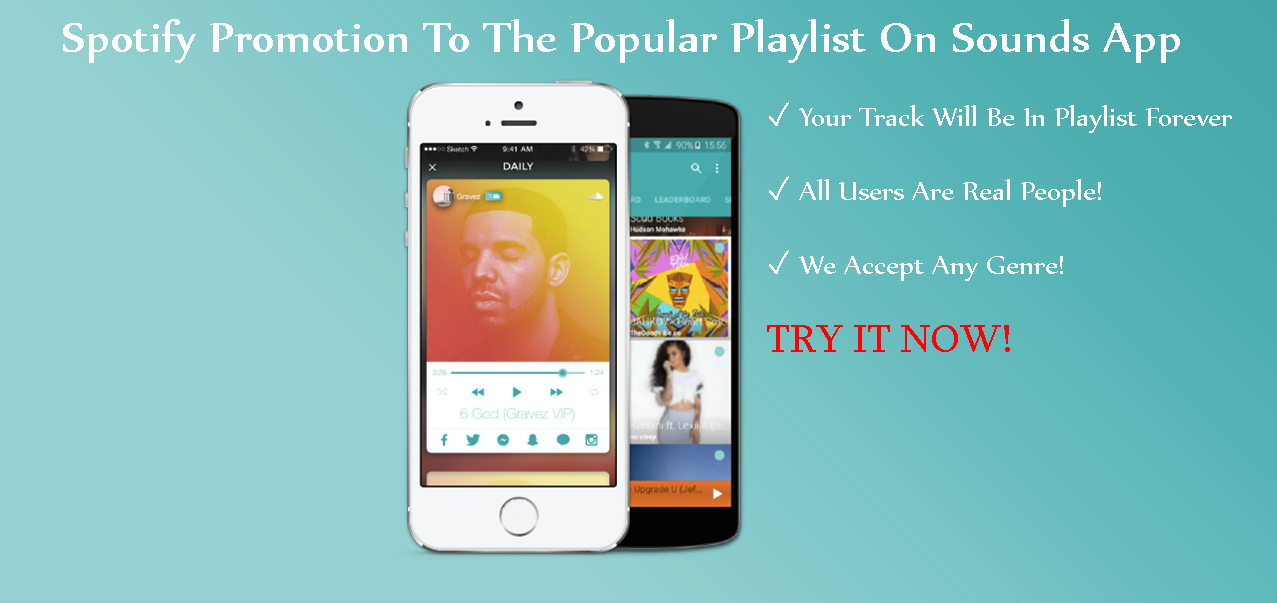 Add Your Track To The Popular Playlist On App And Send A Message To 5,000 Real Users