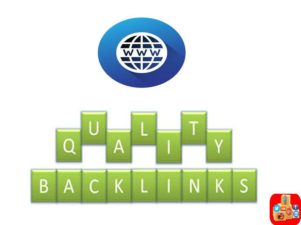 Give you 100 high quality backlinks for your sites