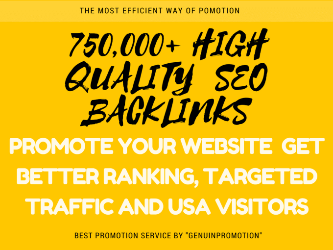 I will create Powerful SEO Backlinks to drive website traffic,  USA visitors