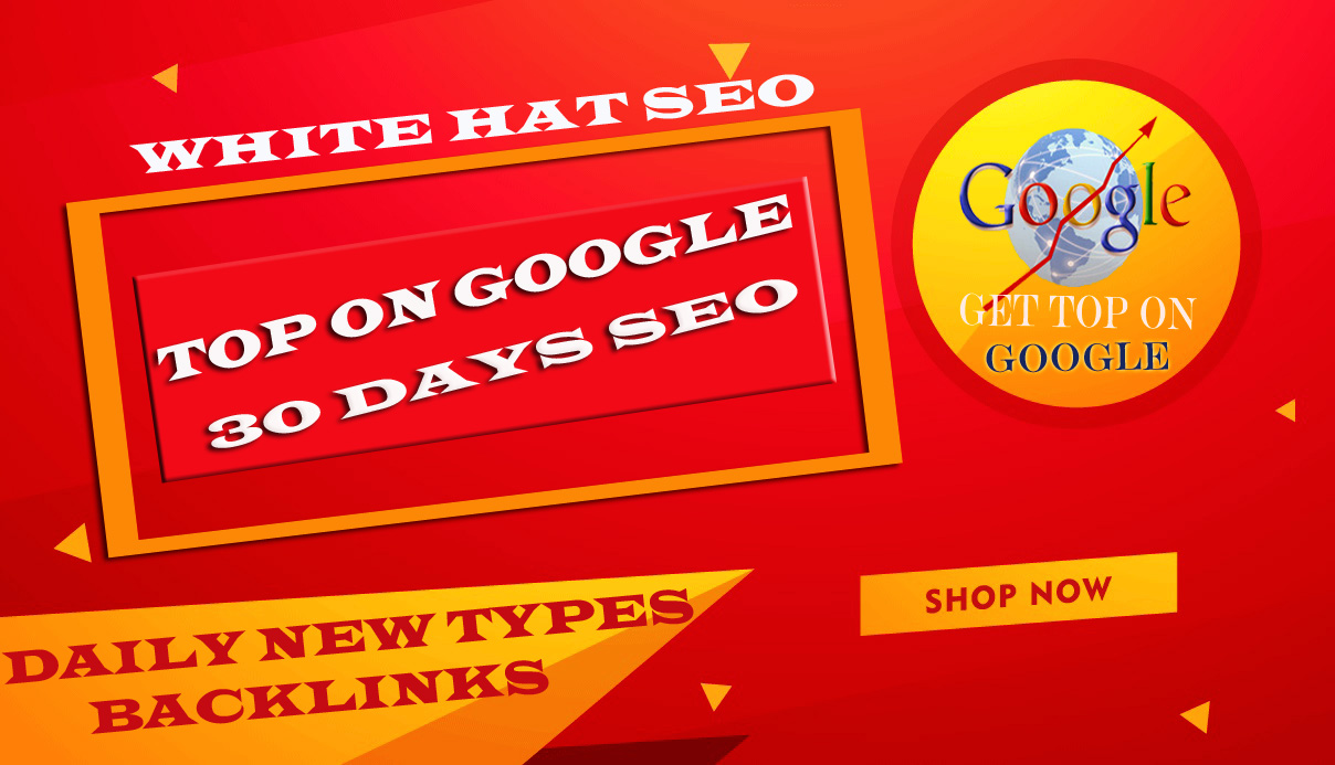 bring your website first page on google with our 30 days white hat SEO