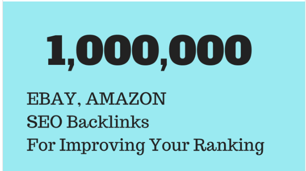 Do gsa SEO backlinks for ebay and amazon promotion