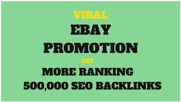 Do ebay promotion for better sales