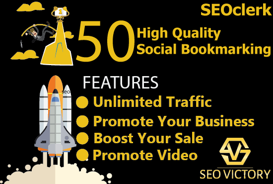 50 High Quality social bookmarks