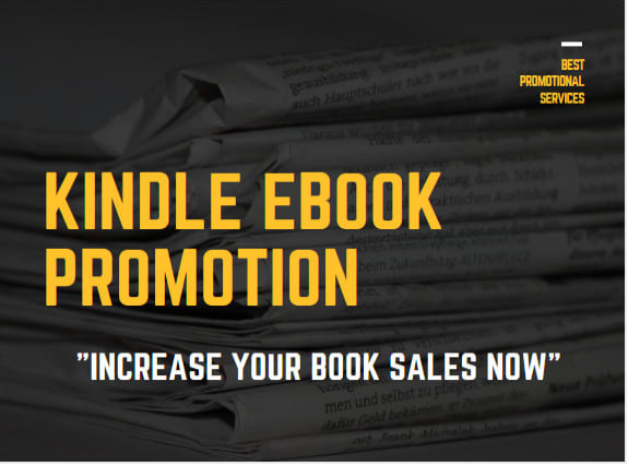 do kindle ebook promotion for more book sales