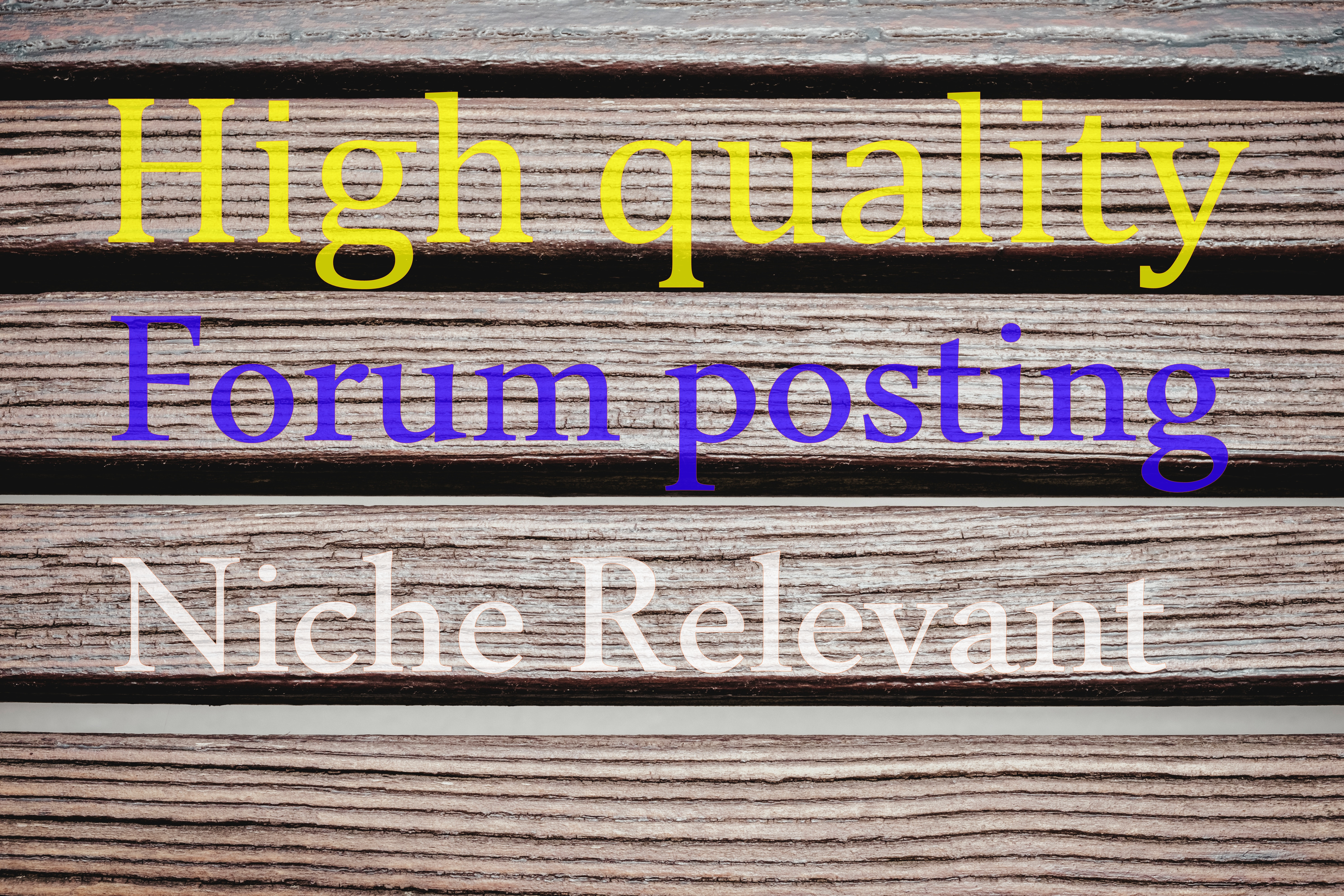 10 High Quality Forum Posting for your website.